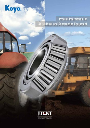 B1009E Product Information for Agricultural and Construction Equipment