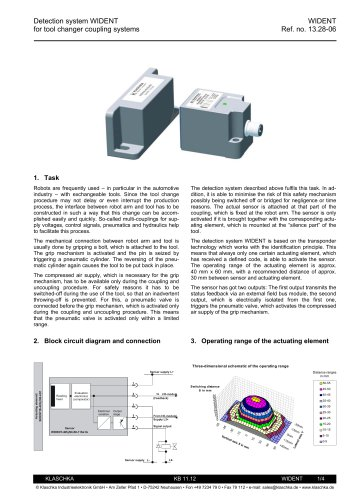 Detection system WIDENT