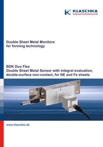 Double-Sheet Metal Detector BDK Duo Flex