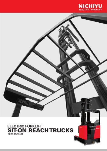 ELECTRIC FORKLIFT SIT-ON REACH TRUCKS