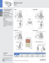 K2 Draw Latch Rotary · Stylized wing - 3