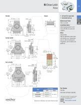 K2 Draw Latch Rotary · Stylized wing - 4