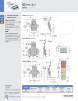 K2 Draw Latch Rotary · Stylized wing - 5