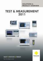 TEST & mEASUREmENT 2011