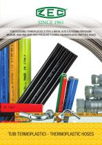 MEDIUM, HIGH AND VERY HIGH PRESSURE THERMOPLASTIC FLEXIBLE HOSES AND PTFE TUBES
