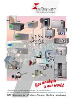 Bühler Gas Analysis catalogue