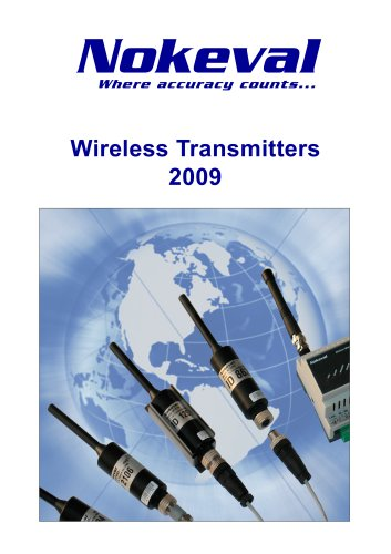 Wireless Transmitters Product Summary 2009