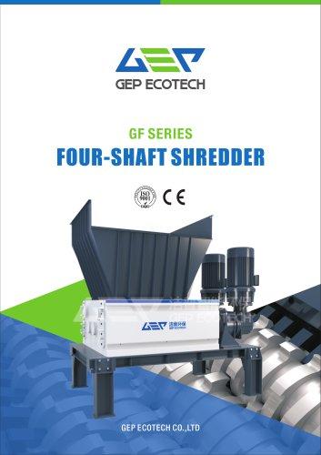 FOUR-SHAFT SHREDDER GF Series