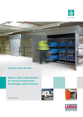 Lifting Solutions (Goods lifts, car lifts)
