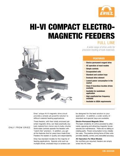 HI-VI COMPACT ELECTROMAGNETIC FEEDERS