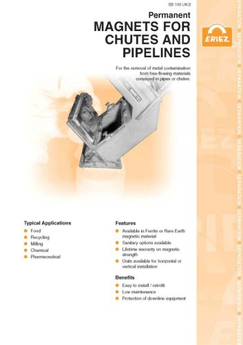 Magnets For Chutes and Pipelines