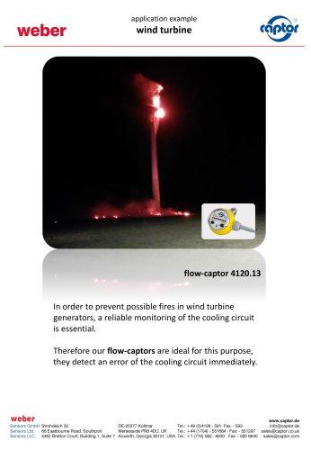 Application- wind turbine