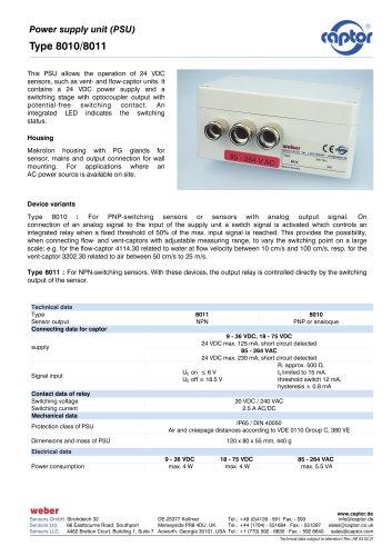 Type 8010, 8011