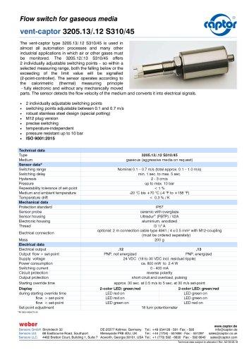 vent-captor 3205.13/.12 S310/45