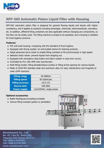 Automatic Overflow Liquid Filler NFL-465