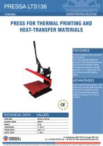 PRESS FOR THERMAL PRINTING AND HEAT-TRANSFER MATERIALS
