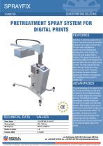 PRETREATMENT SPRAY SYSTEM FOR DIGITAL PRINTS