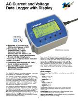 AC Current and Voltage Data Logger with Display