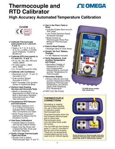 High Accuracy Automated Temperature Calibration