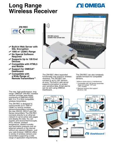 Long Range Wireless Receiver