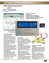 Monitor Temperature Over the Internet