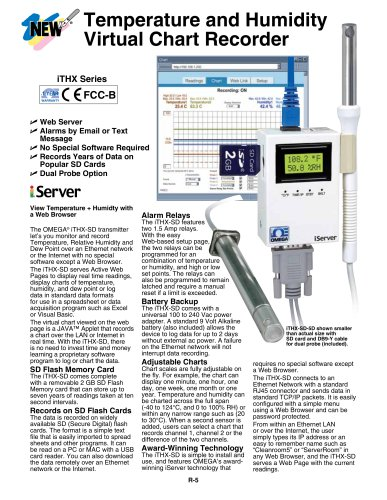 Temperature and Humidity Virtual Chart Recorder