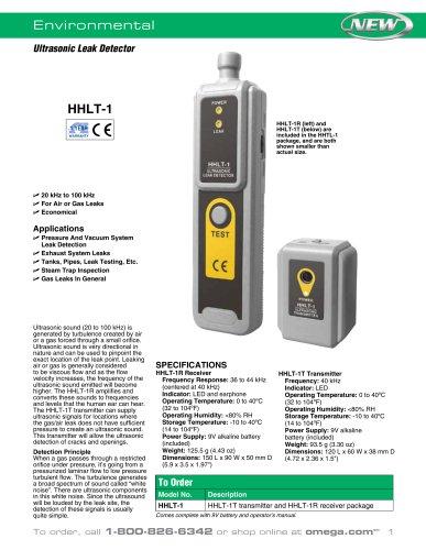 Ultrasonic Leak Detector