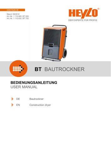 BT 500 / 700