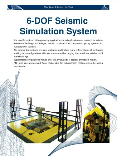 6 DOF Earthquake Simulation System