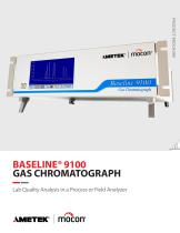 Baseline BevAlert Series 9100 Gas Chromatograph (GC)