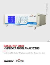 Baseline Series 9000 Hydrocarbon Analyzer