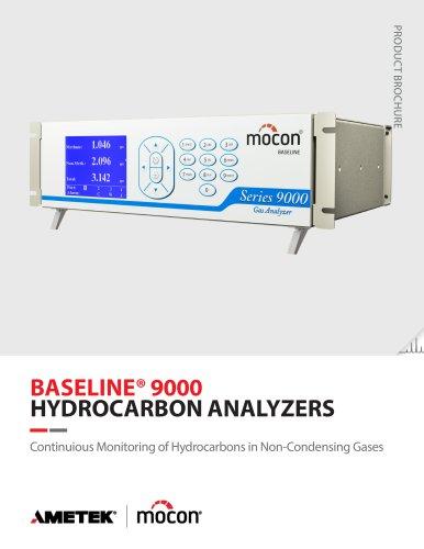Baseline Series 9000 MNME Methane Total Hydrocarbon Analyzer