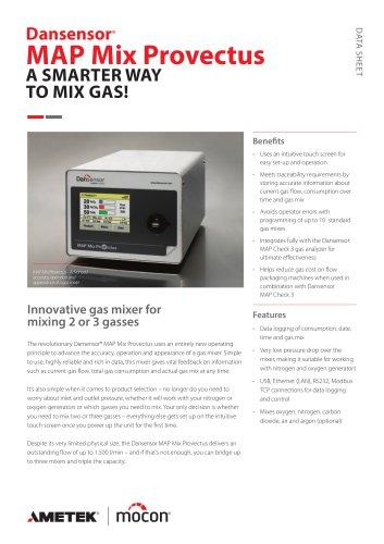 Dansensor MAP Mix Provectus Gas Mixer