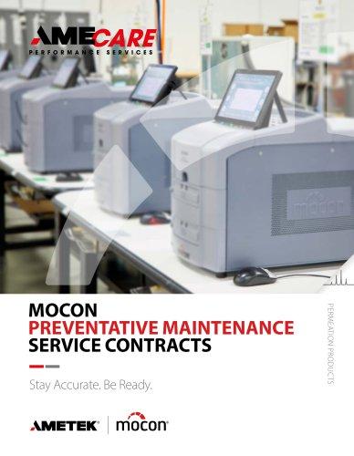 MOCON PREVENTATIVE MAINTENANCE SERVICE CONTRACTS