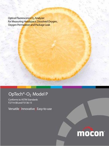 OpTech-O2 Headspace and Shelf Life Analyzer