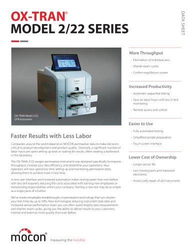 OX-TRAN Model 2/22 Series