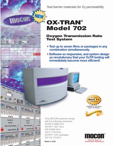 OX-TRAN Model 702