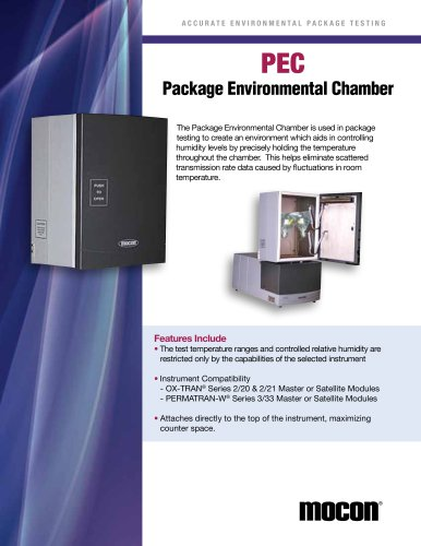 Package Environmental Chamber