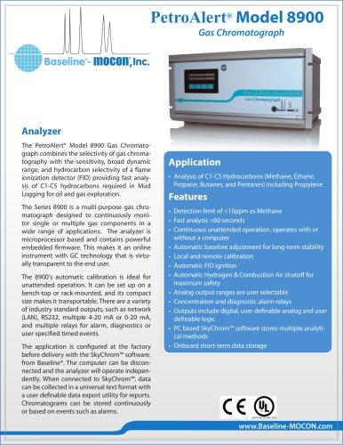 PetroAlert® Model 8900 Gas Chromatograph