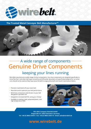 Wire Belt Drive Components