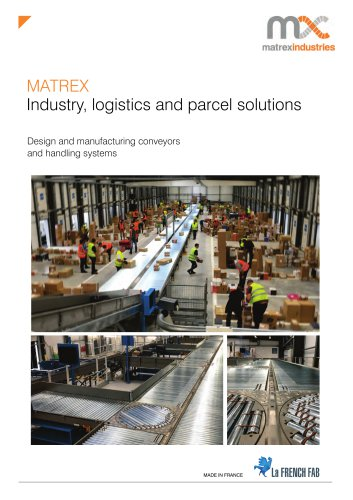 MATREX - Industry, logistics and parcel solutions