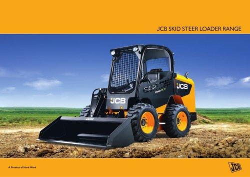 JCB SKID STEER loader RANGE