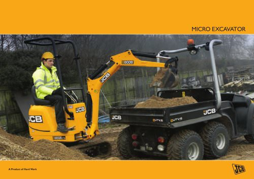 Micro Excavator Brochure
