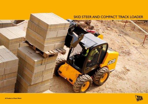 Skid steer and compact track loader brochure
