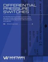 DIFFERENTIAL PRESSURE SWITCHES - 1