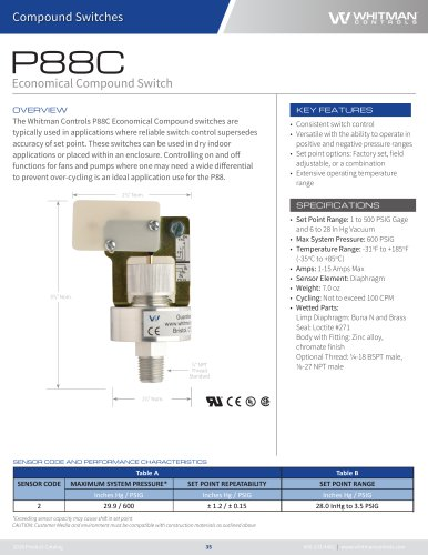 P88C Economical Compound Switch