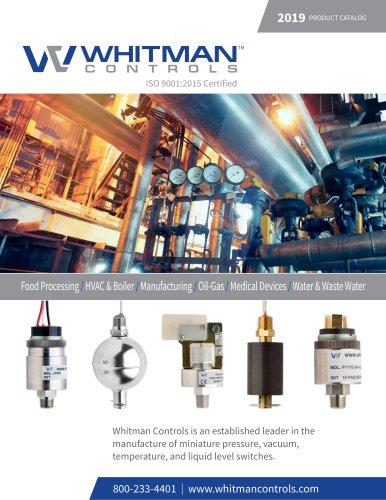 Whitman Control | 2019 Full Product Catalog