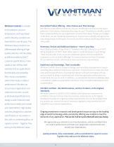 Whitman Control   2019 Full Product Catalog - 2