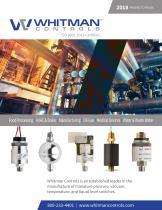 Whitman Controls 2018-2019 Full Product Catalog - 1