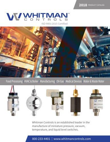 Whitman Controls 2018-2019 Full Product Catalog